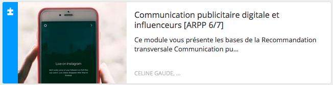 Module éthique : communication publicitaire digitale